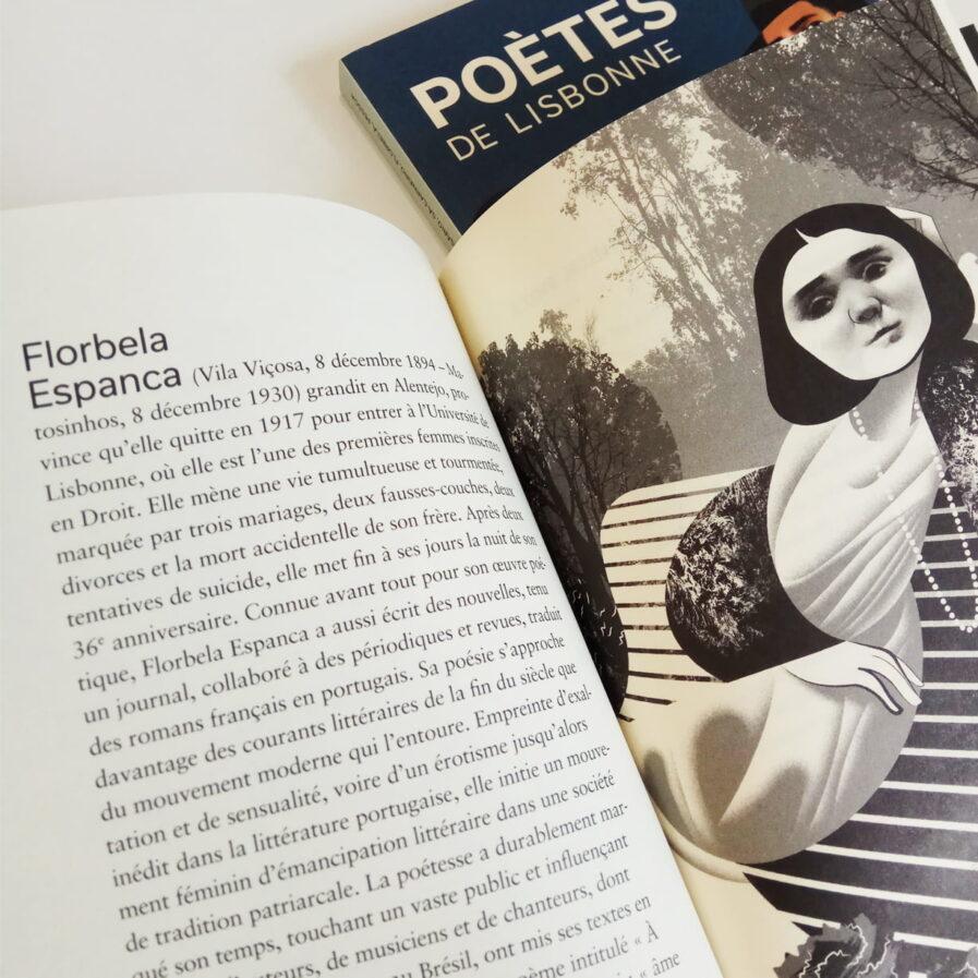 poetes lisbonne book at apaixonarte
