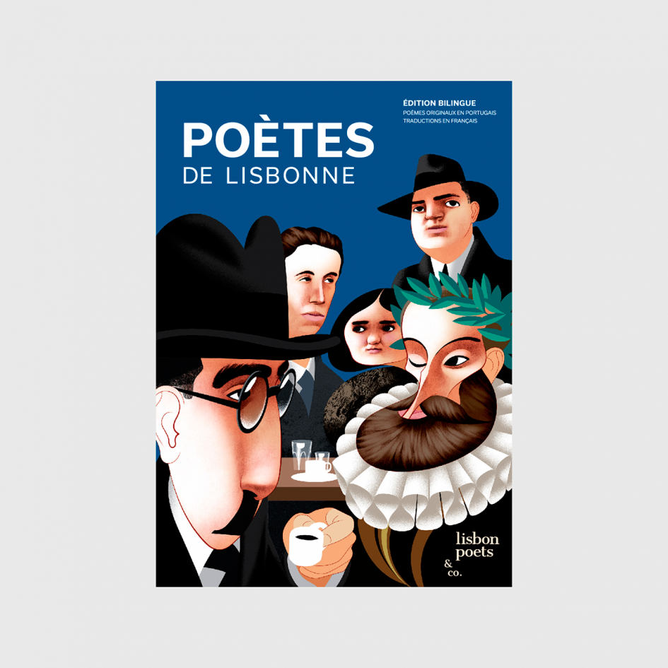 Poètes de Lisbonne poetry book at apaixonarte
