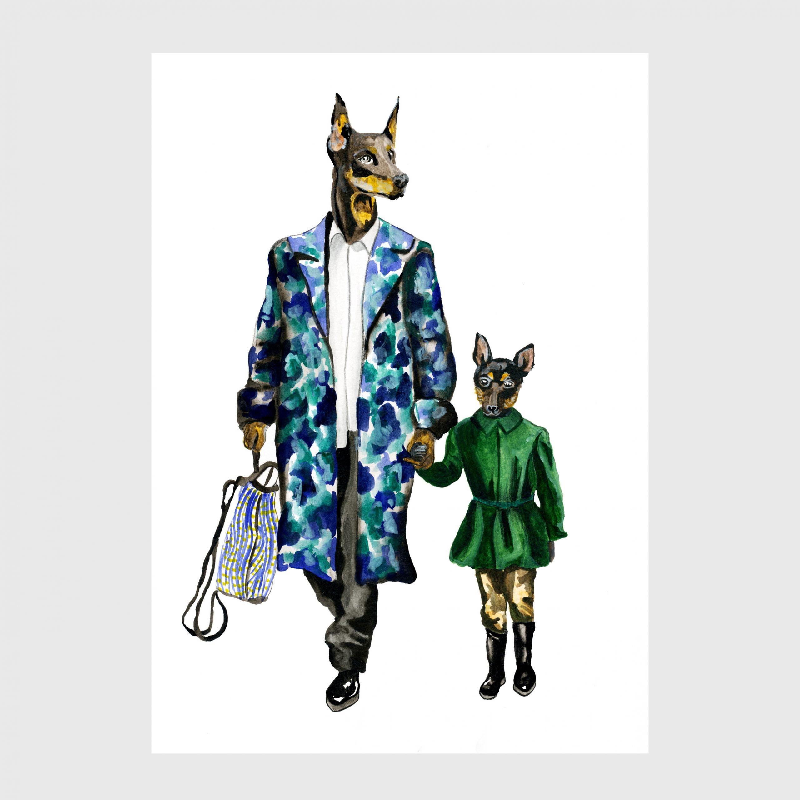 10-karina-krumina fashion design illustration