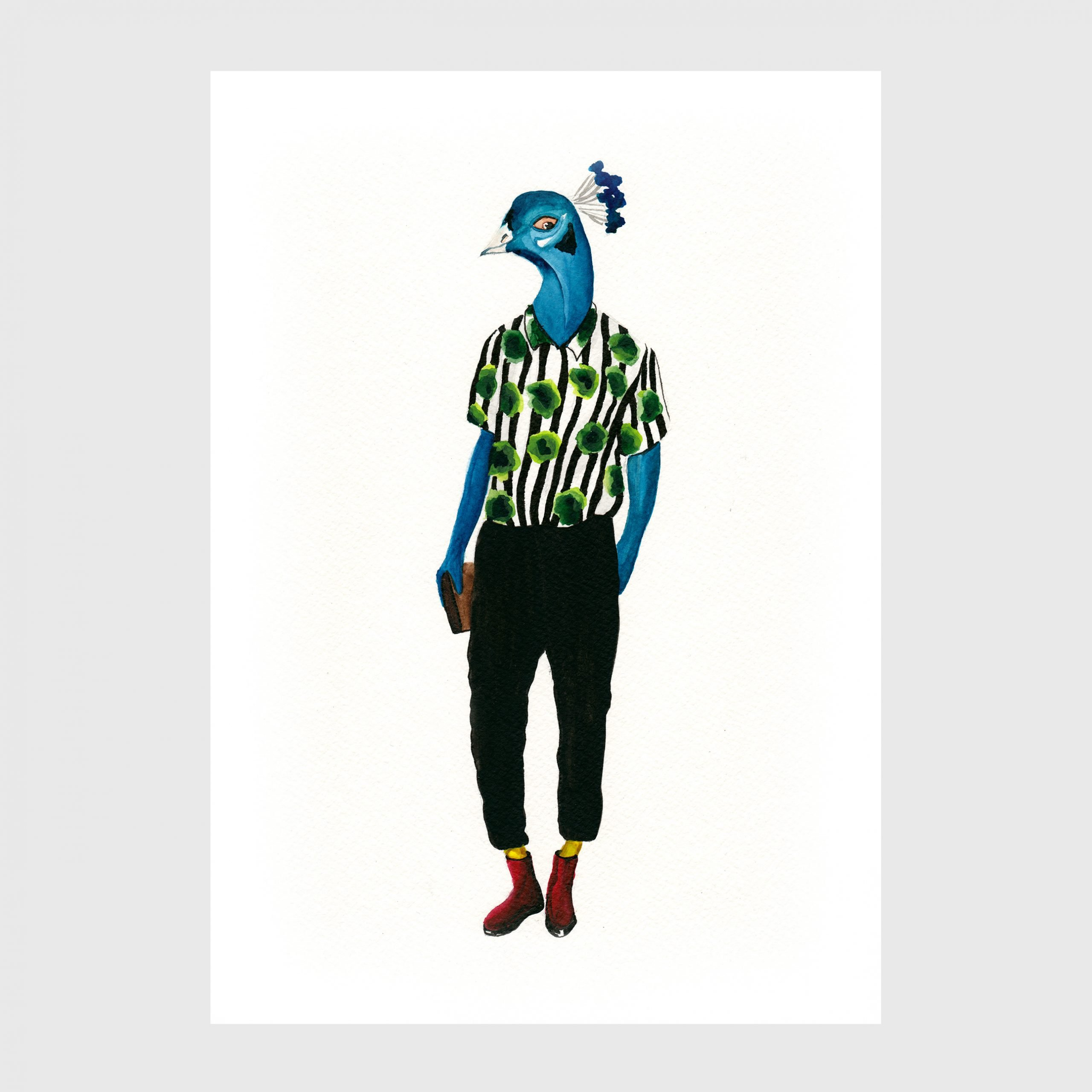 2-karina-krumina fashion design illustration