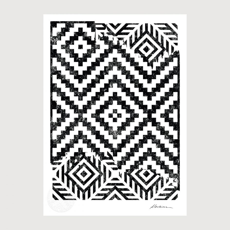 Disorder 0.1 - Alecrim pattern illustration