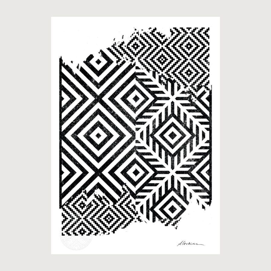 Disorder 0.2 - Alecrim pattern illustration