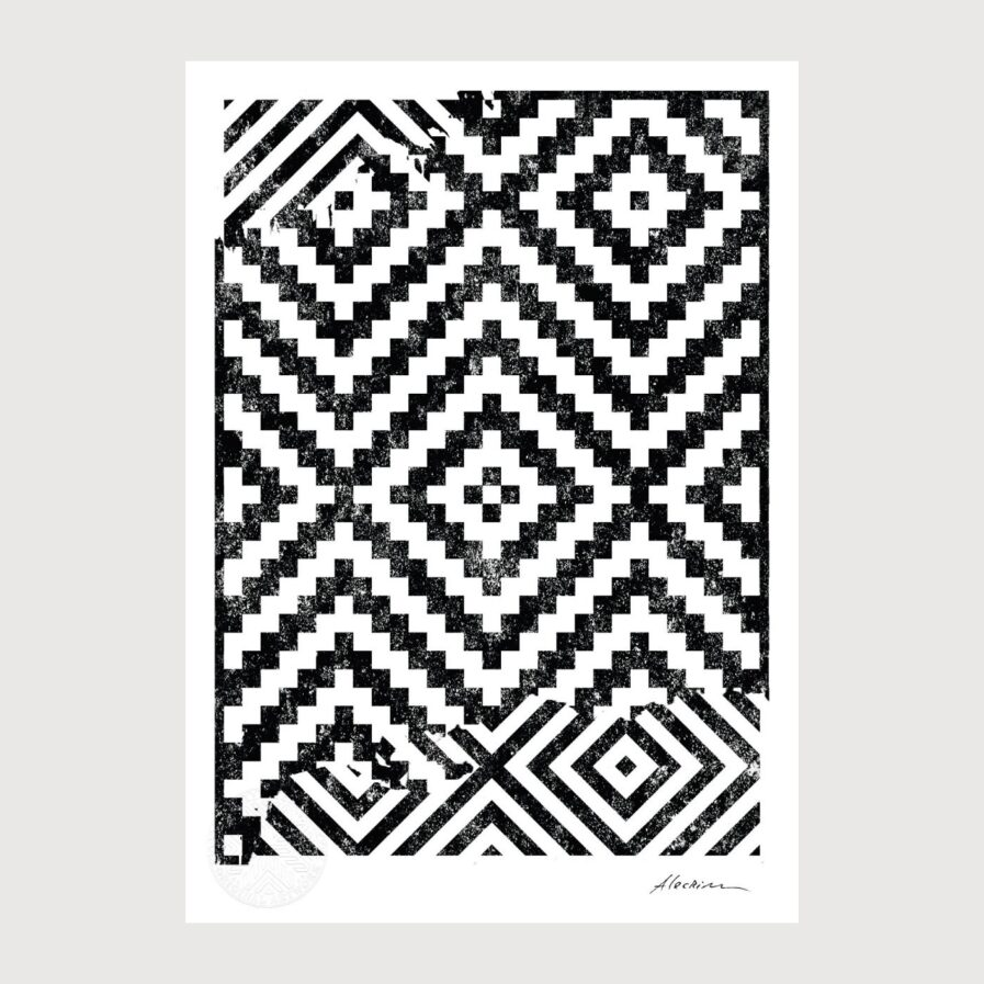 Disorder 0.3 - Alecrim pattern illustration
