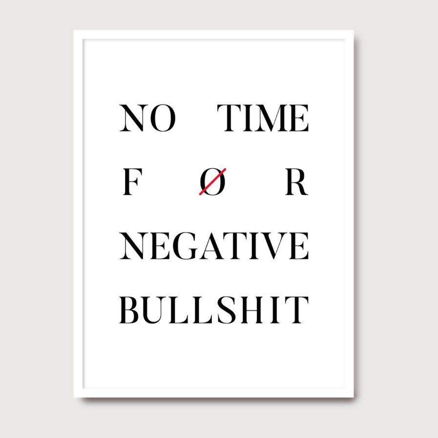No time - A Venda portuguese graphic design