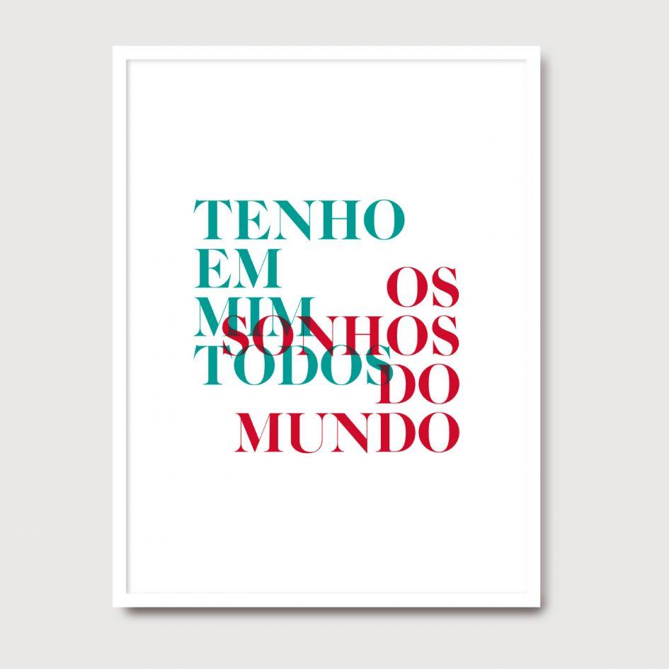 Tenho em mim - A Venda portuguese graphic design