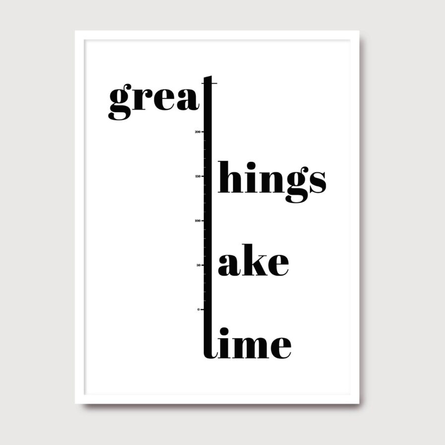 Great Things - A Venda portuguese graphic design