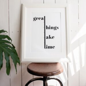 Great Things - A Venda portugues design grafico
