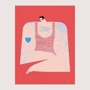 Print ChestHair Ballad - Tiago Galo na Apaixonarte