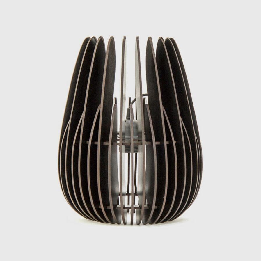 lamp black wood