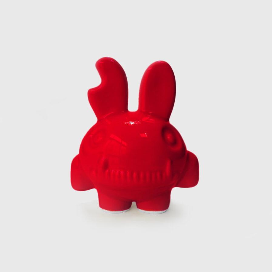 rabbit red ceramic