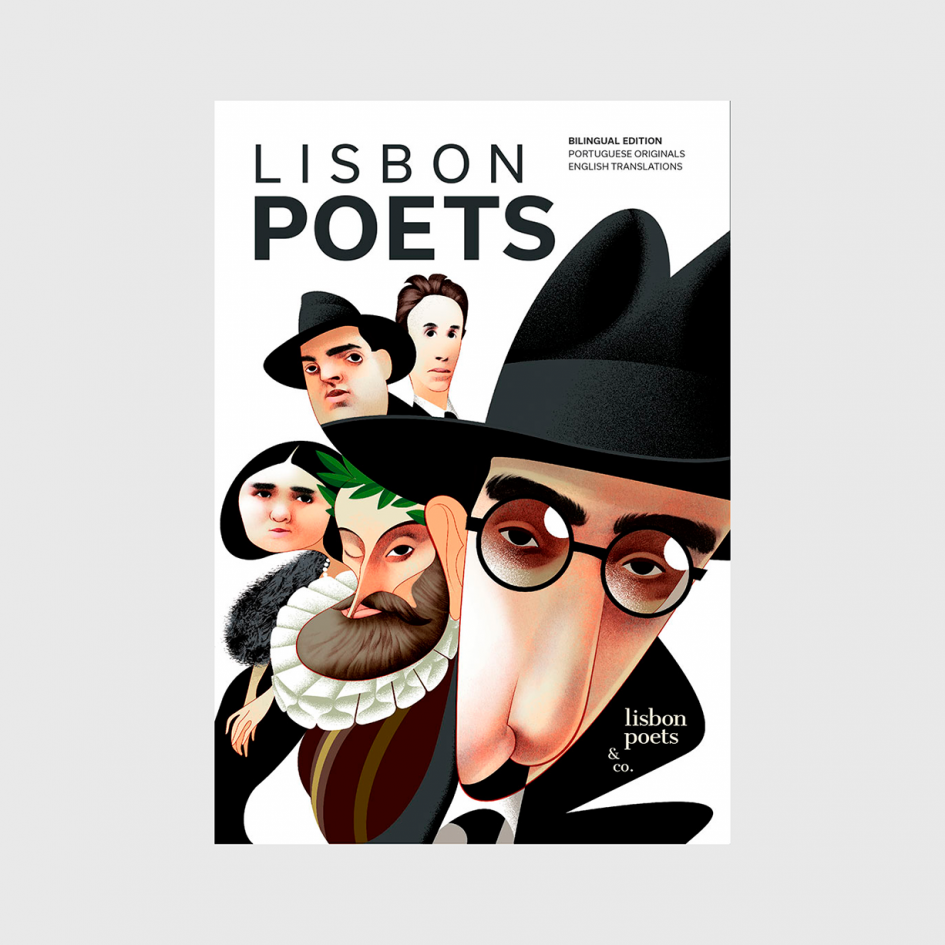 Lisbon poets book at apaixonarte