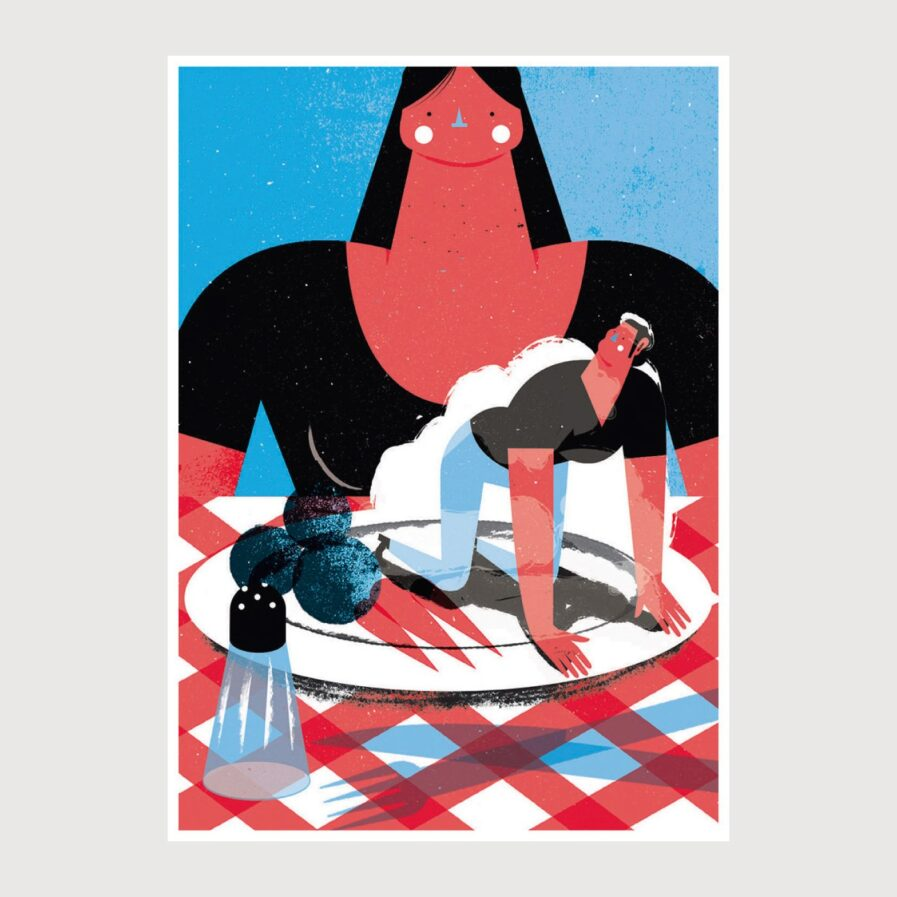 Print Mashed Potatoes - Tiago Galo na Apaixonarte