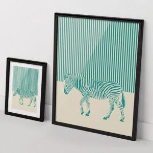 Zebra print The Red Wolf  Apaixonarte