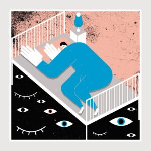 Print Under Bed Monsters - Tiago Galo na Apaixonarte