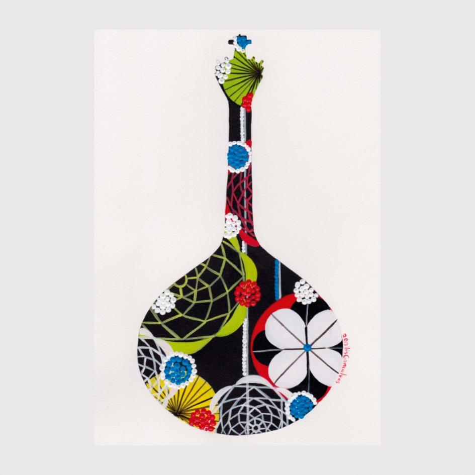 Print Portuguese Guitar - Lis na Apaixonarte