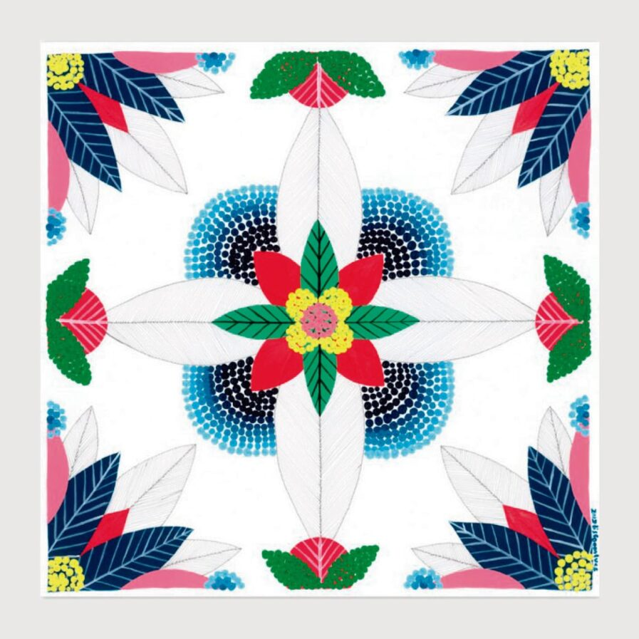 Print mix tiles - Lis na apaixonarte