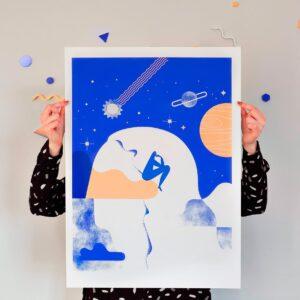 Sky of Consciousness ilustracao portugues adamastor