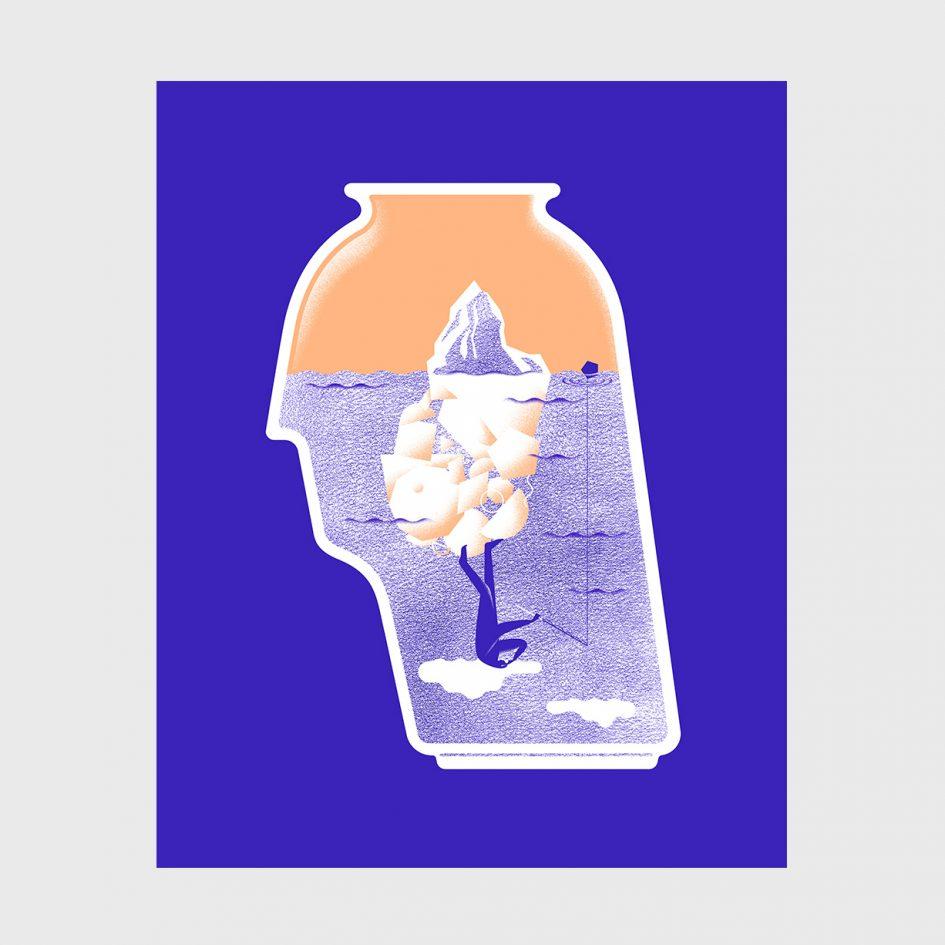 sea of consciousness illustration portuguese adamastor