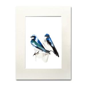 bird If You're a bird, I'm a bird watercolor Nina fraser