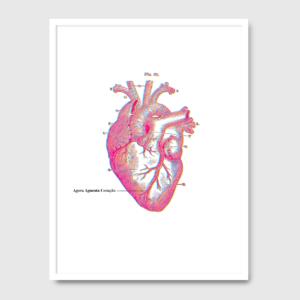 Agora aguenta coração - A Venda portuguese graphic design
