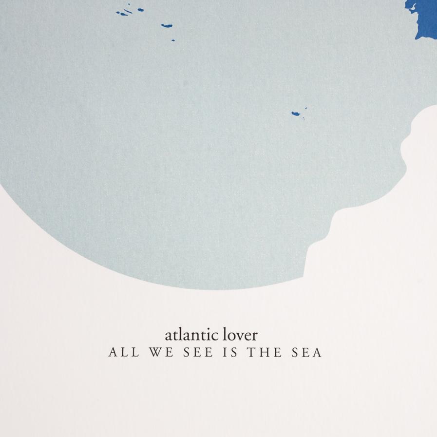 All we see is the sea - A Venda portugues design grafico