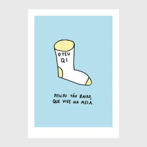 ilustração sobre O teu QI de Clara Não