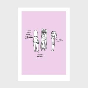 Amor Próprio ilustração sobre Amor Próprio de Clara Não