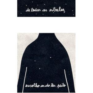 ilustração sobre Estrelas de Clara Não