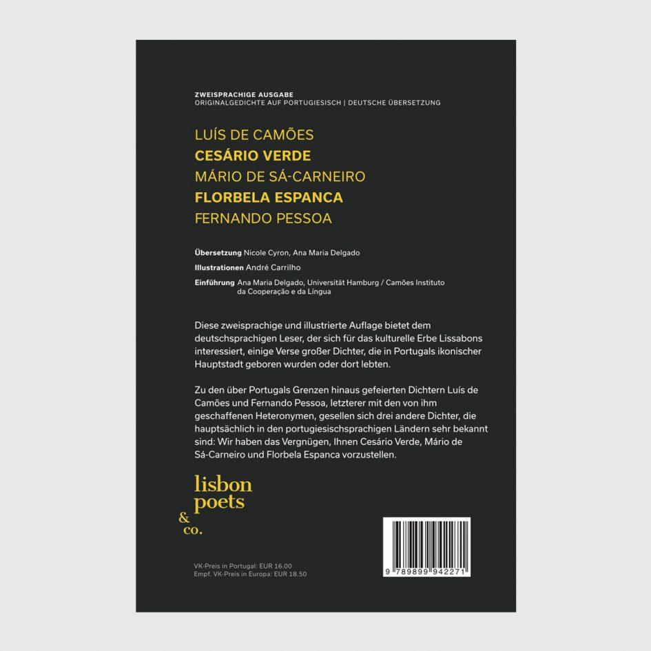 Lissabonner Dichter book at apaixonarte