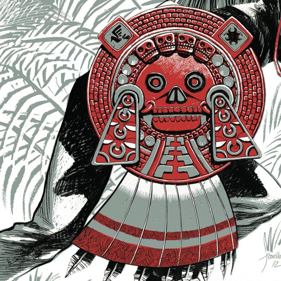 Mexico color comic book jorge coelho apaixonarte