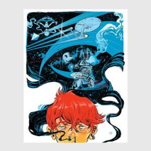 space color comic book jorge coelho at apaixonarte