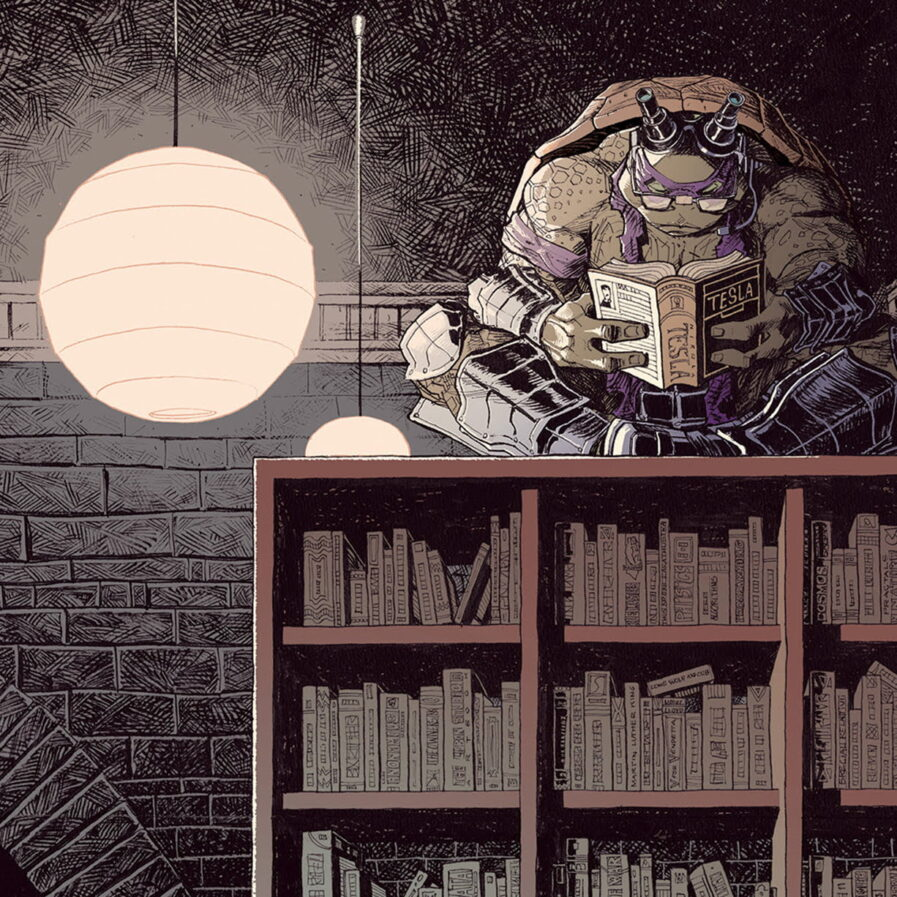Tmnt comic book jorge coelho apaixonarte