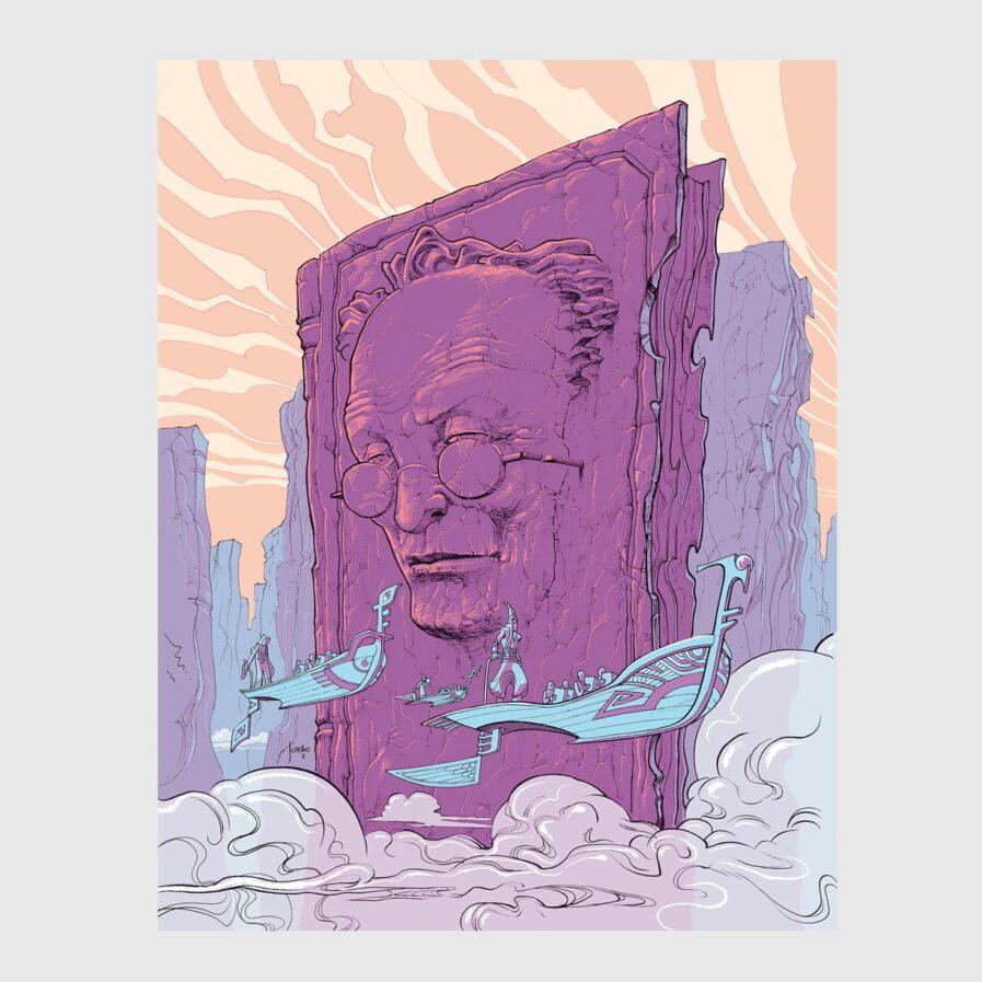Moebius illustration jorge coelho