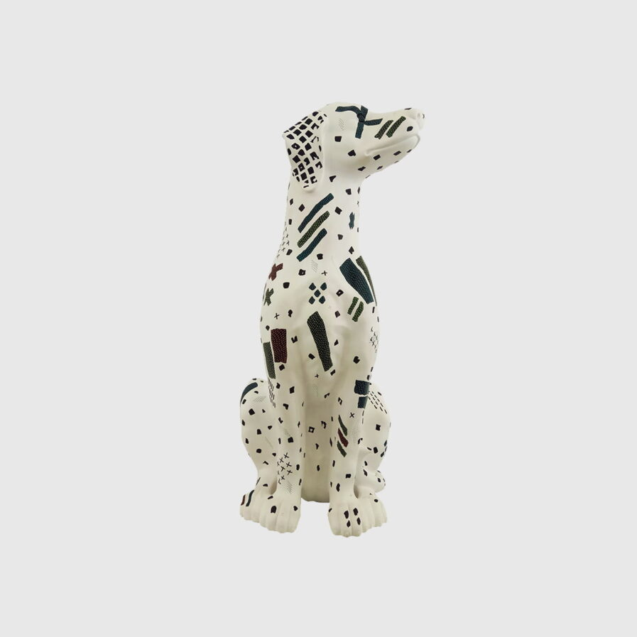 dog rafeiro painted by ricardo milne