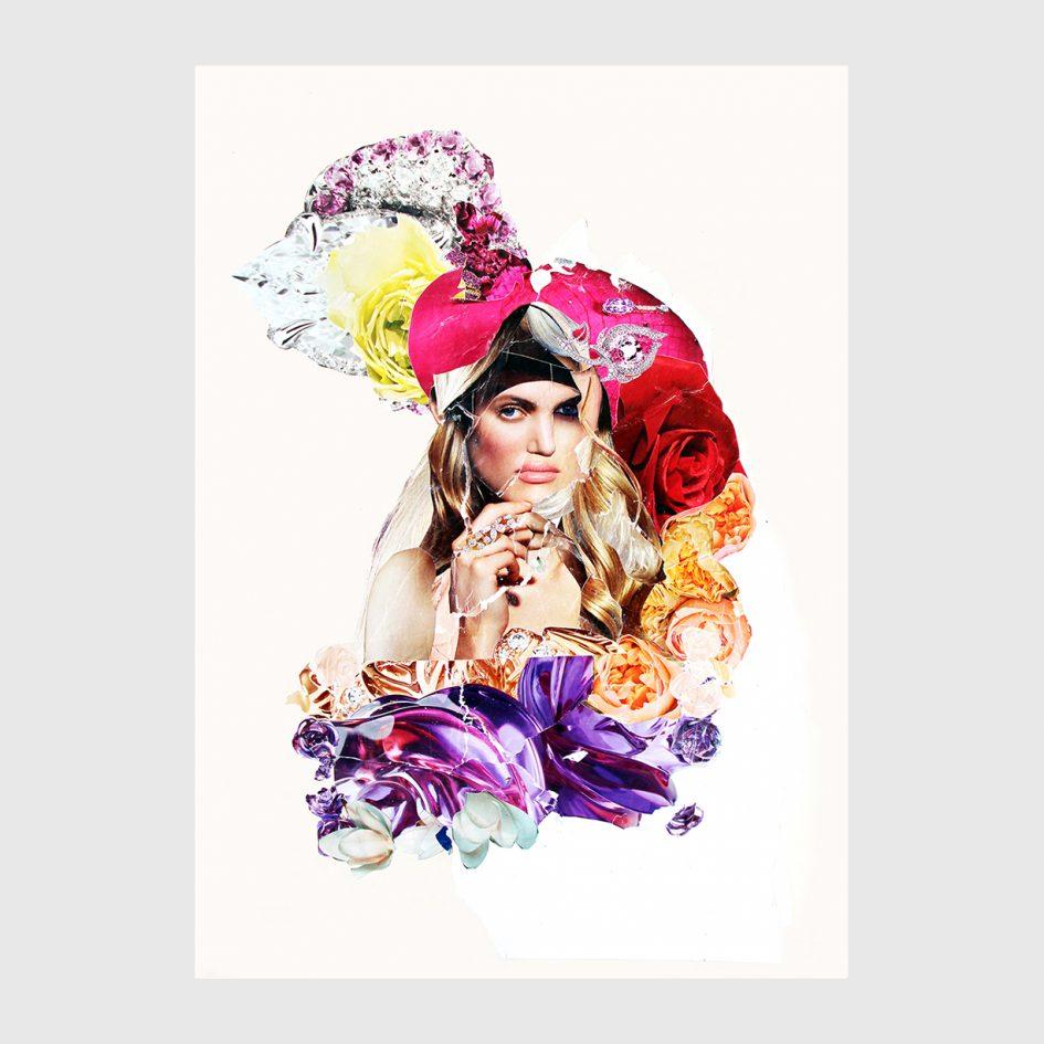 Nina fraser women collages at apaixonarte