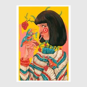 uma Thurman print Rita Ravasco