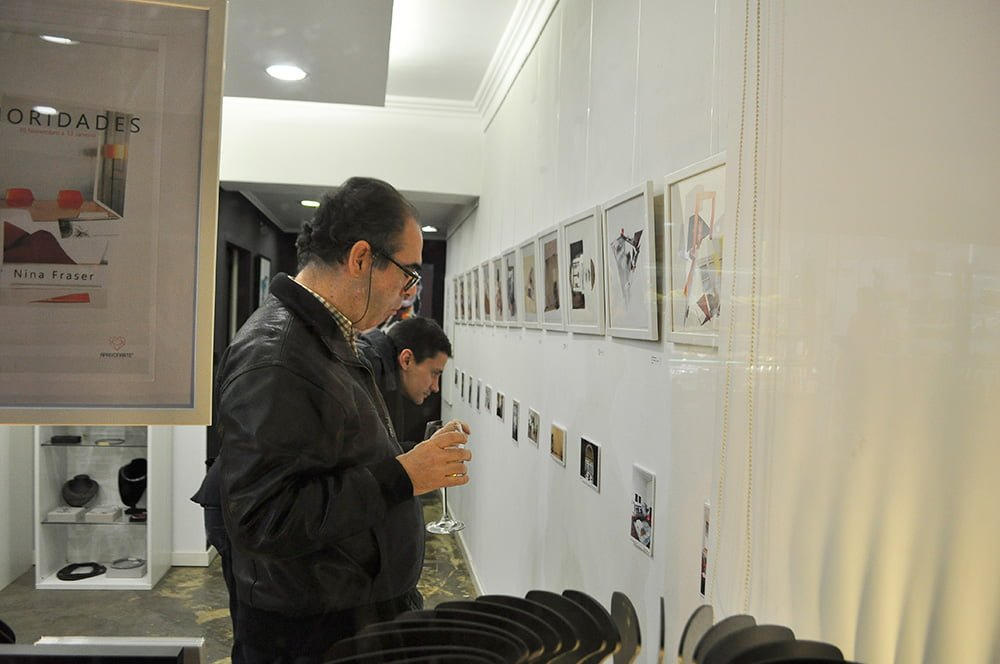 exposição, exhibition, collage, colagens, Nina Fraser