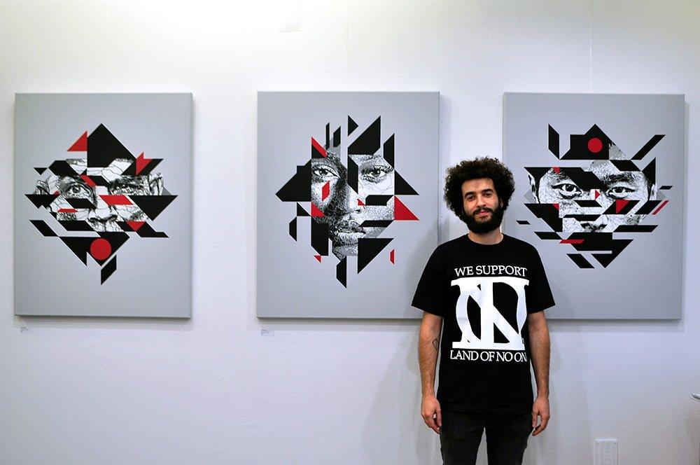 exposição, exhibition, street art, stencil, SAMINA