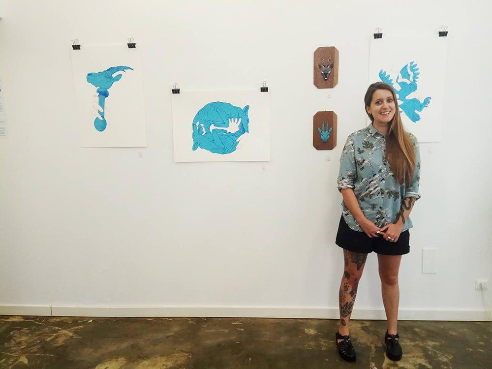 exposição, exhibition, ilustração, illustration, Sara Feio