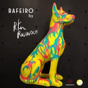 Rafeiro painted by Rita Ravasco at apaixonarte