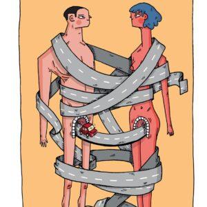 estradas Ricardo Ladeira ilustração apaixonarte