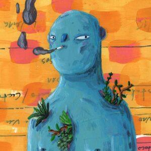 interior Ricardo Ladeira ilustração apaixonarte