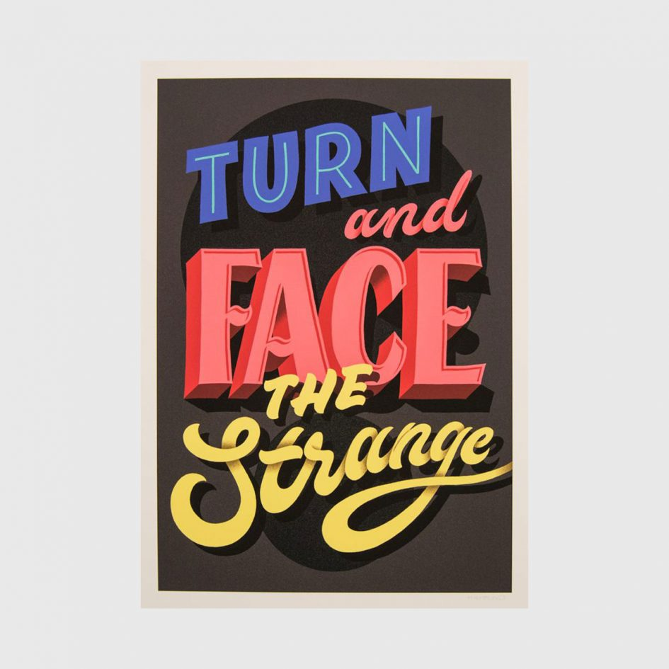turn and face the strange by halfstudio at apaixonarte