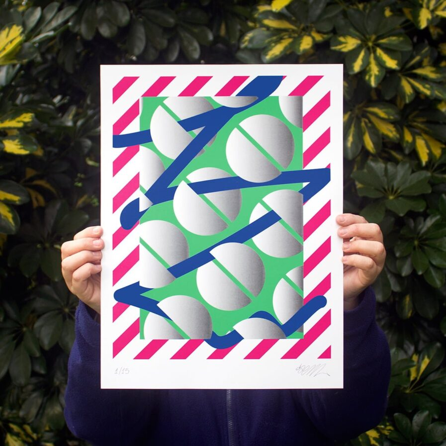 pattern line illustration by mynameisnot SEM