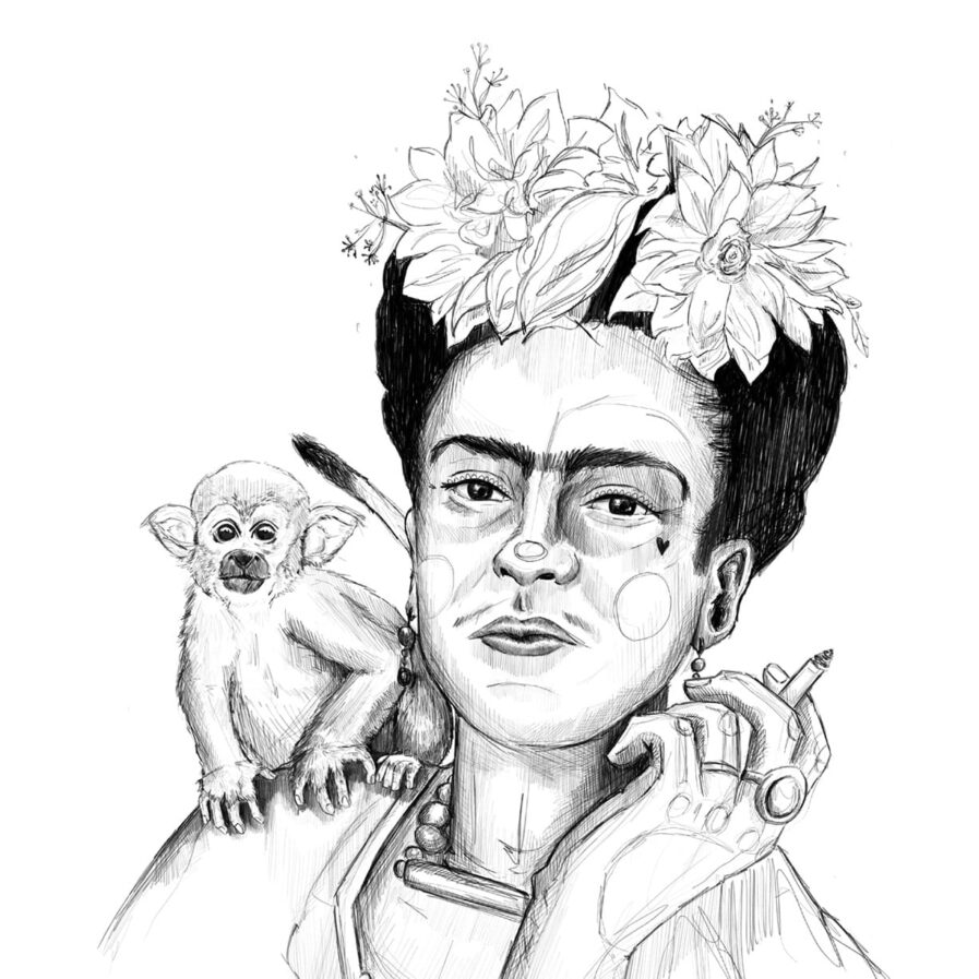 Frida 2.0 by c'marie