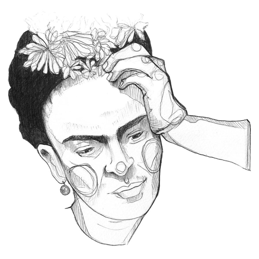 Frida Kahlo by c'marie