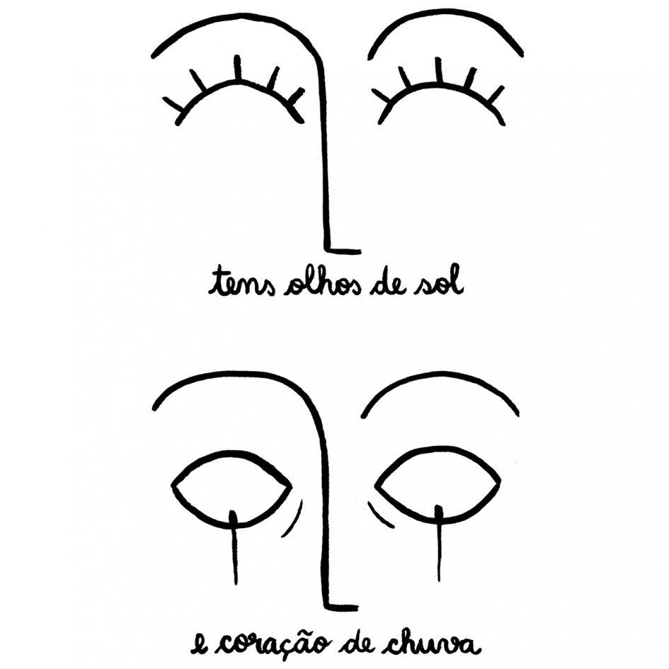 Tens olhos de Sol