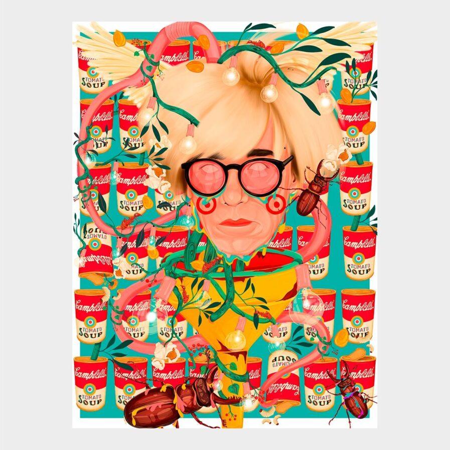 Rita-Ravasco-DO-NATURAL-AO-ARTIFICIAL- Andy warhol painting