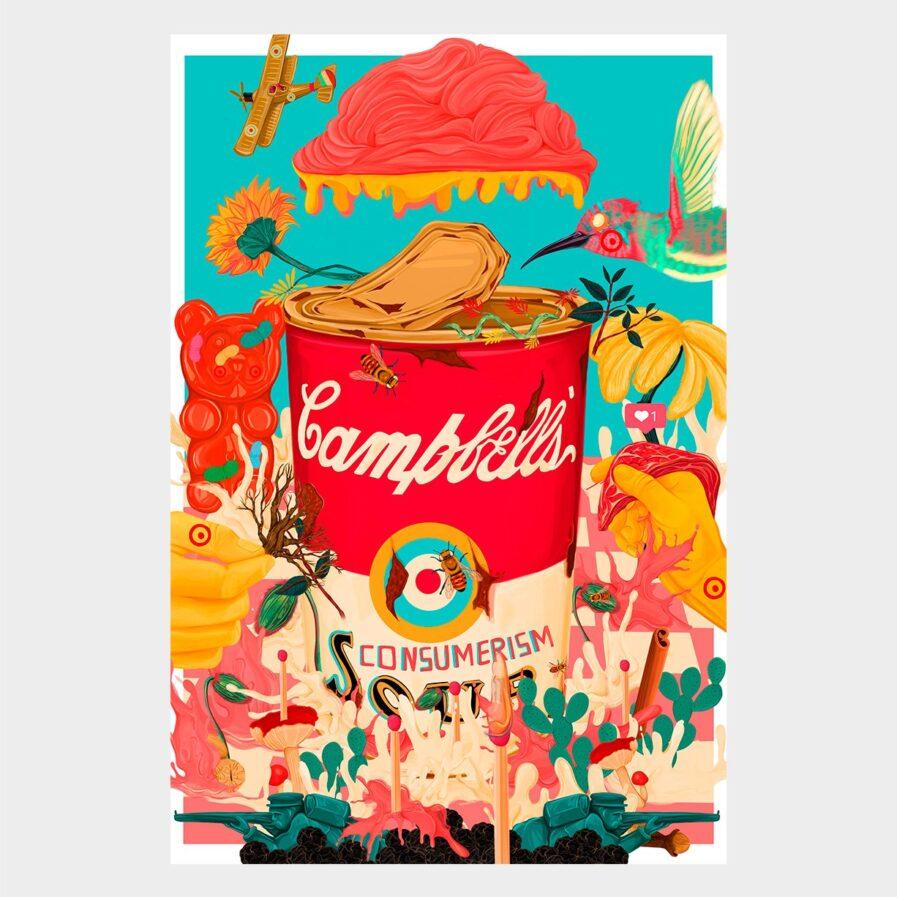 Rita-Ravasco-SOPA-DE-CONSUMISMO Campbels soup