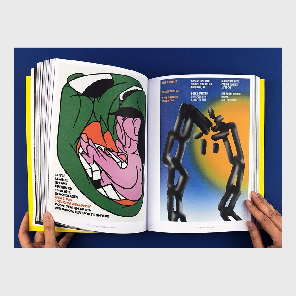 collection of poster in book by braulio amado